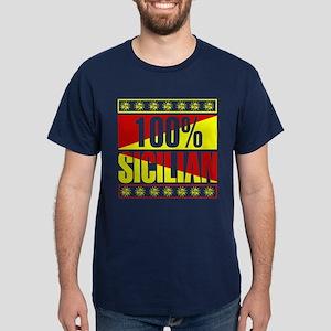 100% Percent Sicilian Dark T-Shirt