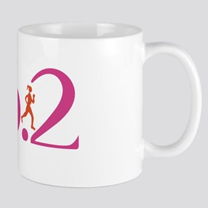 26.2 Marathon Run Like A Girl Mug