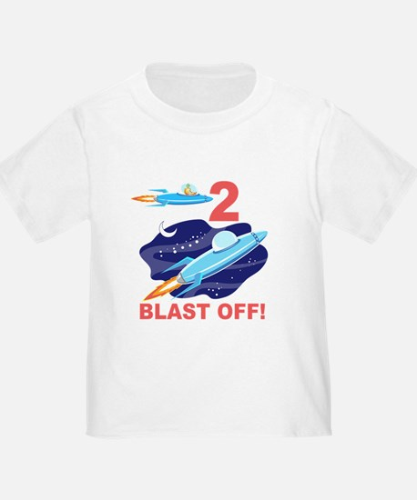 Outer Space 2nd Birthday T