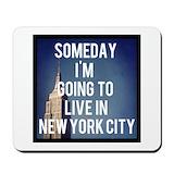 New york Classic Mousepad
