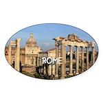 Rome Sticker (Oval 10 pk)