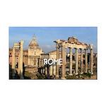 Rome Rectangle Car Magnet