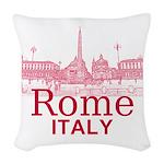 Rome Woven Throw Pillow