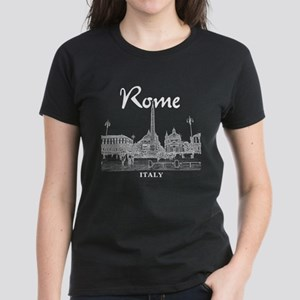 Rome Women's Dark T-Shirt