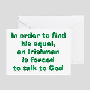 An Irish Equal Greeting Cards (Pk of 10)