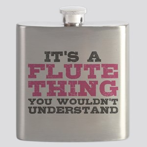It's a Flute Thing Flask