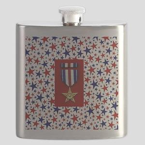 Silver Star Flask