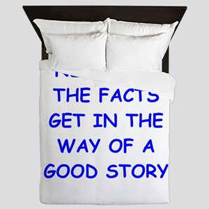 facts Queen Duvet