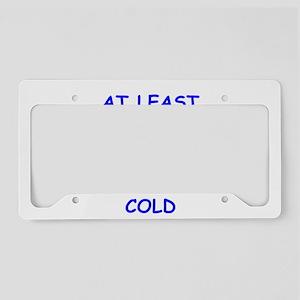 the good side License Plate Holder