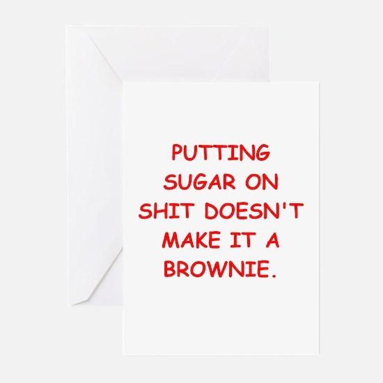 BROWNIES Greeting Cards (Pk of 10)