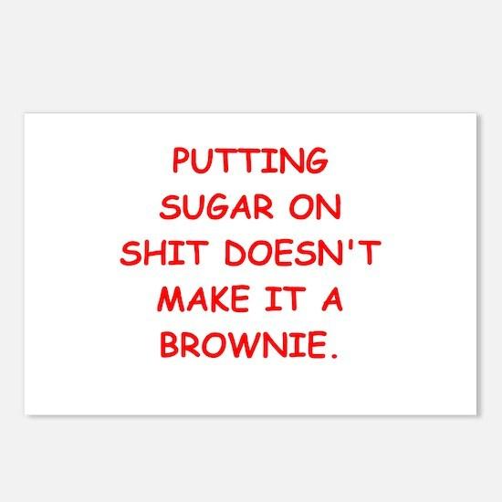 BROWNIES Postcards (Package of 8)
