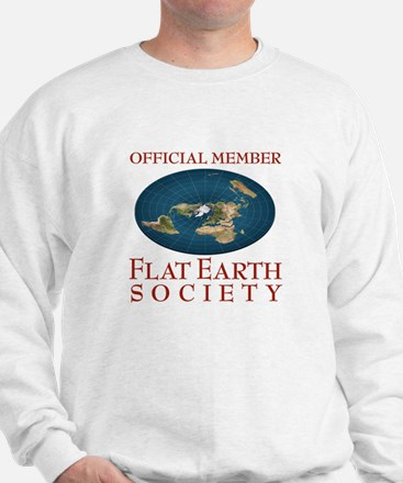 Flat Earth Society - Sweatshirt