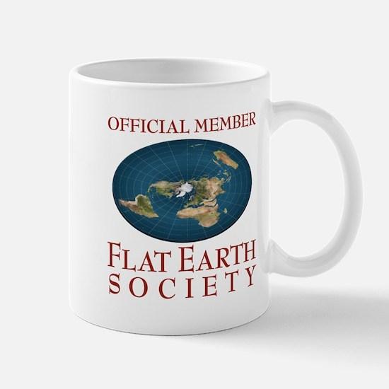 Flat Earth Society - Mug
