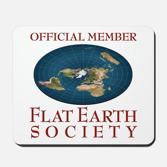 Flat Earth Society - Mousepad