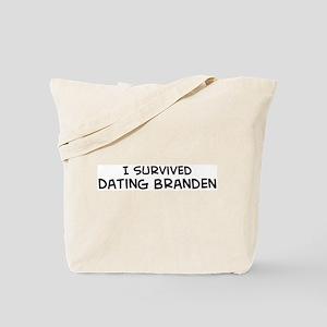 Survived Dating Branden Tote Bag