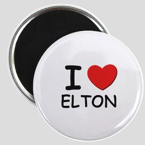 I love Elton Magnet