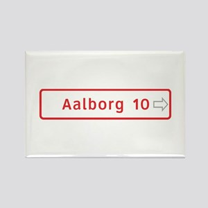 Roadmarker, Aalborg - Denmark Rectangle Magnet