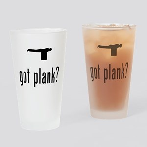 Planking Drinking Glass