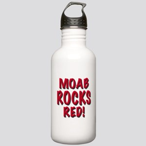 Moab Rocks Red Water Bottle