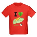 Kid's I heart Golden Mantellas (Mitsinjo) T-shirt