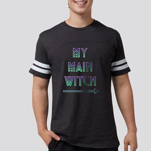 Halloween My Main Witch Mens Football Shirt