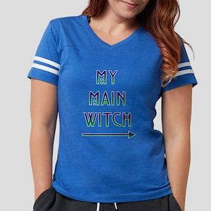 Halloween My Main Witch Womens Football Shirt