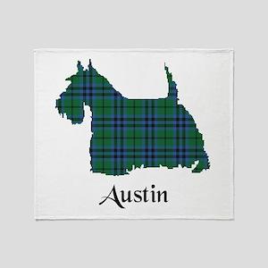 Terrier - Austin Throw Blanket