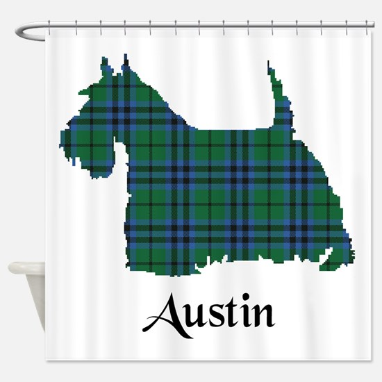 Terrier - Austin Shower Curtain