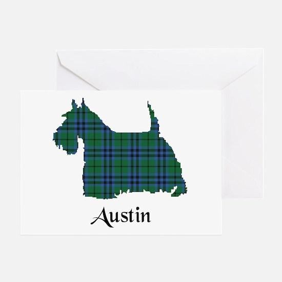 Terrier - Austin Greeting Card