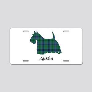 Terrier - Austin Aluminum License Plate