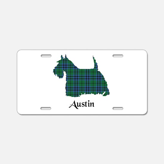 Terrier - Austin Aluminum License Plate