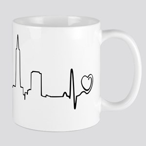 San Francisco Heartbeat (Heart) Mug