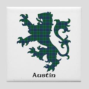 Lion - Austin Tile Coaster