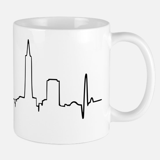 San Francisco Heartbeat Mug