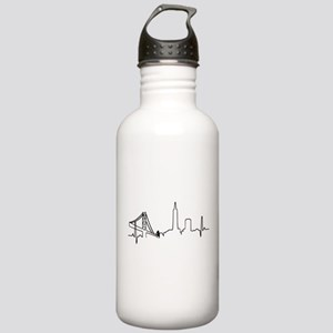 San Francisco Heartbeat Water Bottle