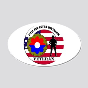 9th Infantry Division Wall Decal