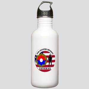 9th Infantry Division Water Bottle