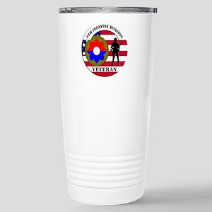 9th Infantry Division Travel Mug