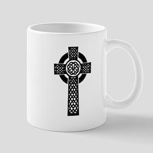 Celtic Knot Cross Small Mug