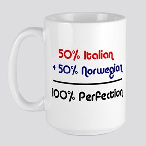 Italian & Norwegian Large Mug