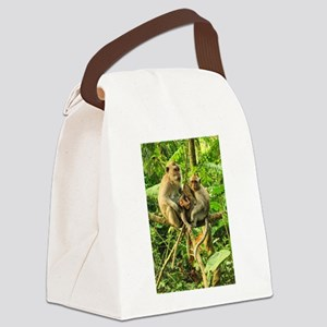 Togetherness on a Branch Canvas Lunch Bag