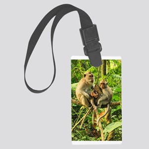 Togetherness on a Branch Luggage Tag