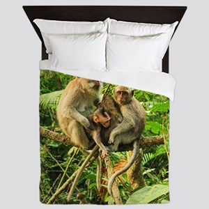 Togetherness on a Branch Queen Duvet