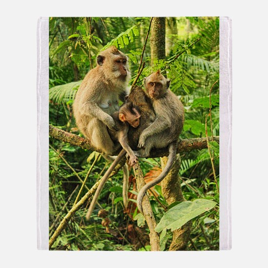 Togetherness on a Branch Throw Blanket