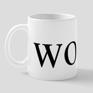 Word. Mug
