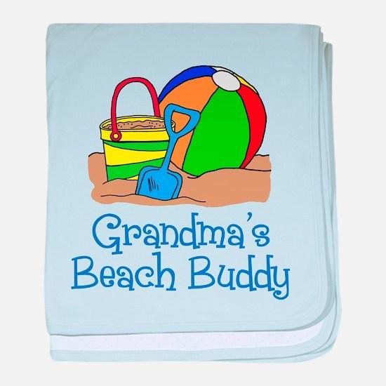 Grandmas Beach Buddy baby blanket
