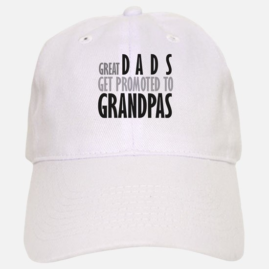 Great dads get promoted to Gr Baseball Baseball Baseball Cap