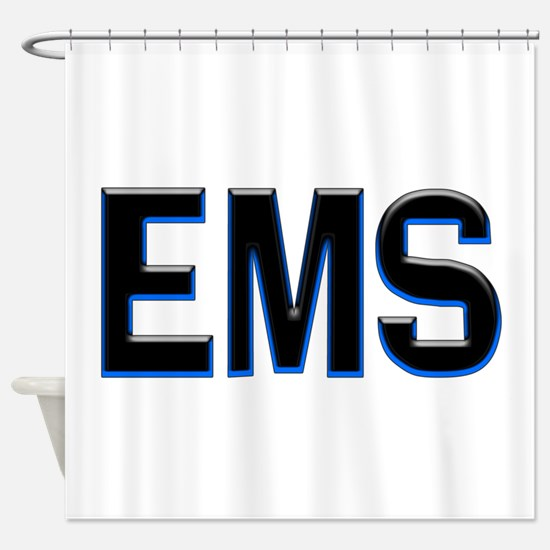EMS Shower Curtain