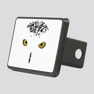 Snowy Owl Rectangular Hitch Cover
