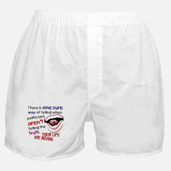 When Politicians Tell the Truth Boxer Shorts